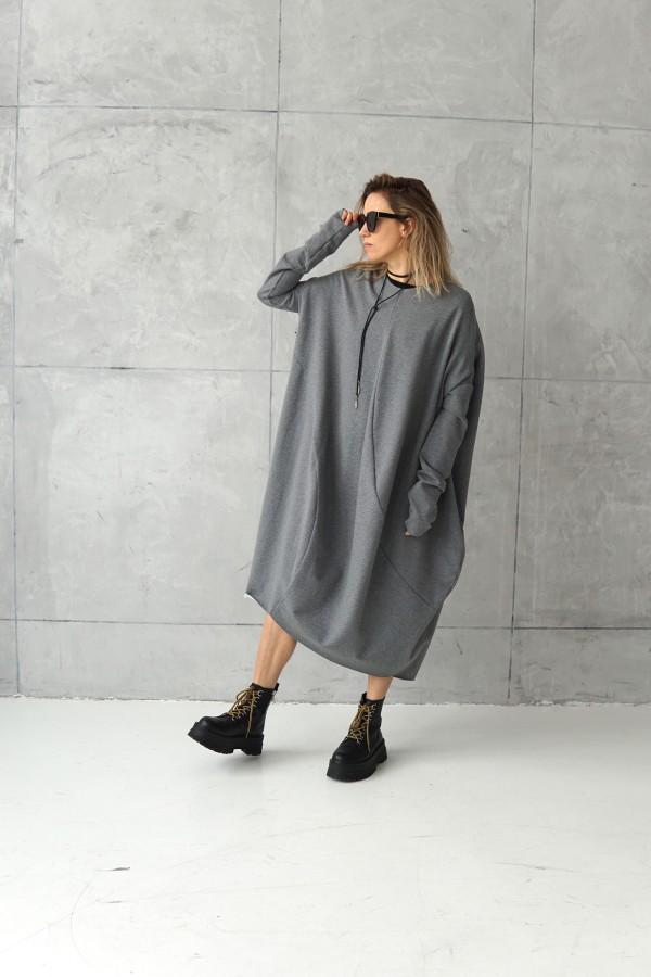 3D GRAY DRESS