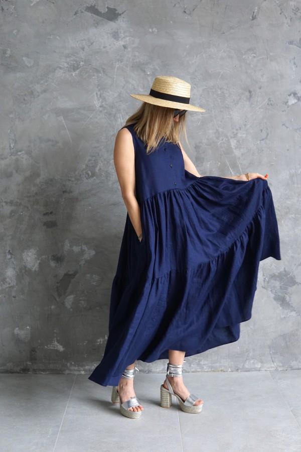 linen dress vanagupe 2