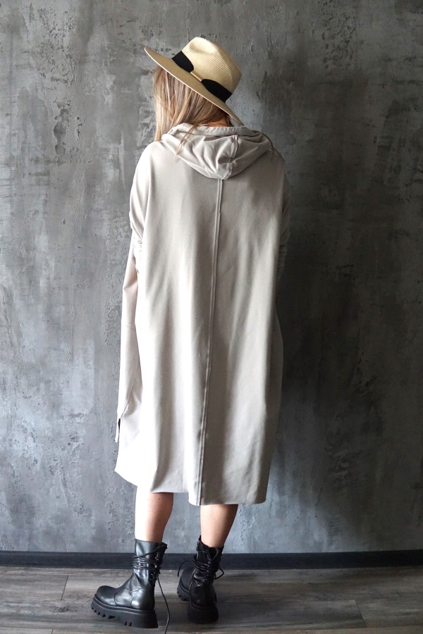 LIGHT DRESS-SWEATSHIRT