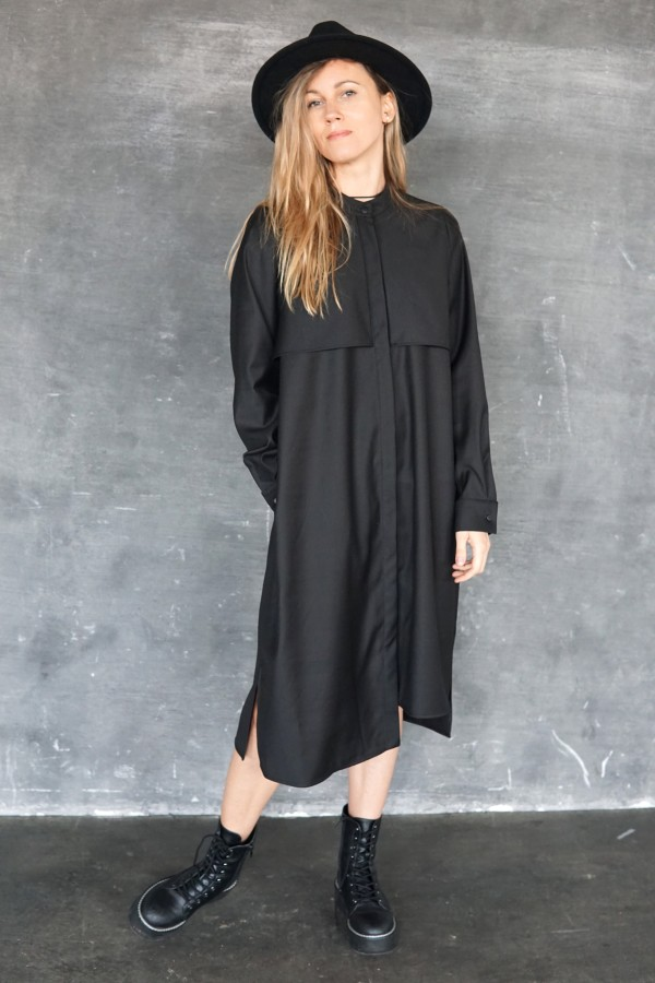black shirt helsinki