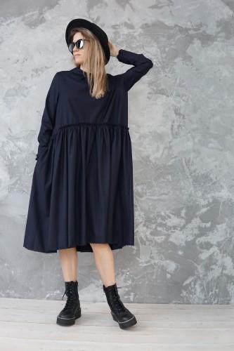 dark blue dress barcelona