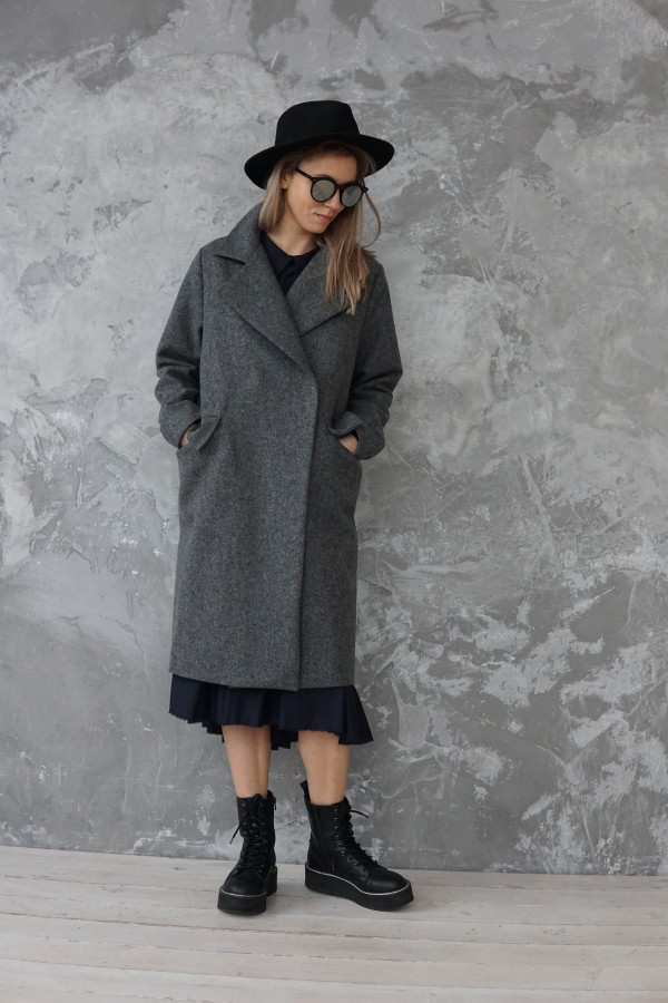 new gray coat