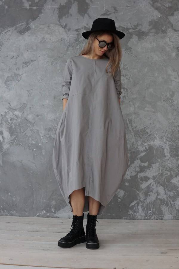 gray dress london
