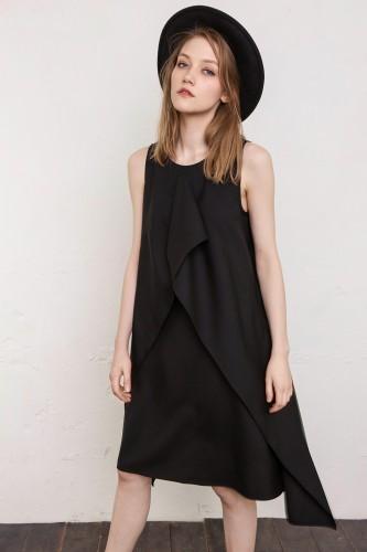 black dress Milan