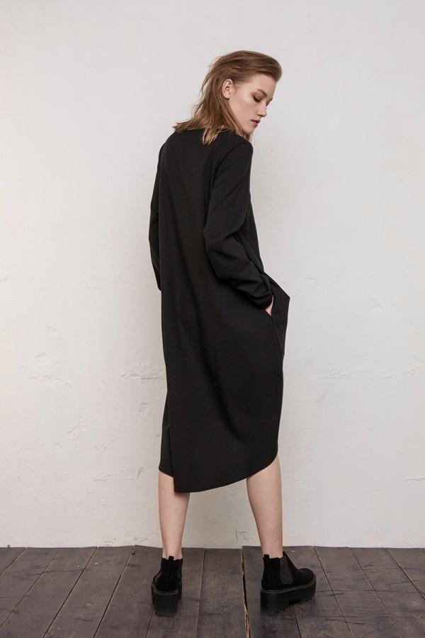 black dress Madrid
