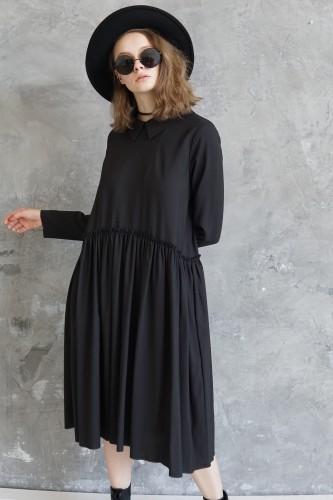 black dress barcelona