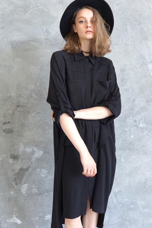 black shirt milan