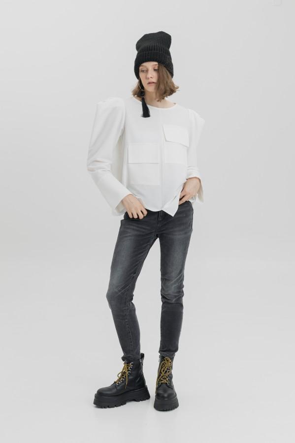 blouse rose