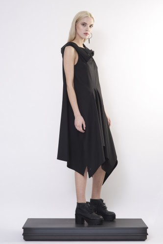 dress with special collar