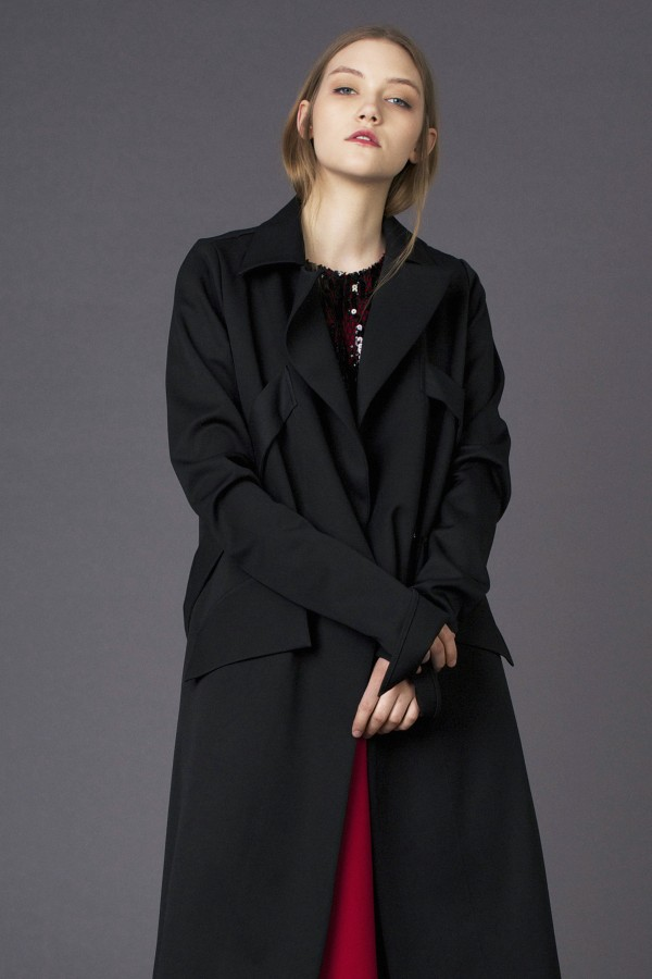 coat with detail on back