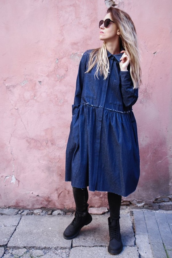 new denim dress