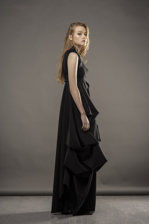 new long black dress