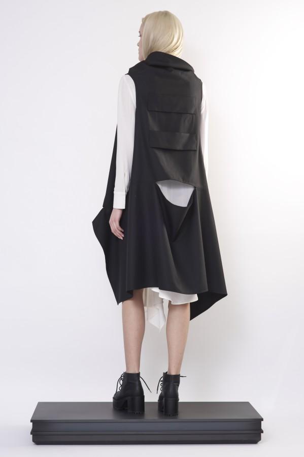 vest with detail on back